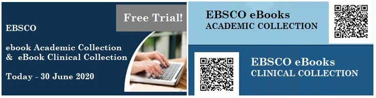 EBSCO ebook Academic Collection and Clinical Collection
