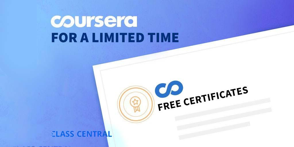 Coursera Together 100 คอร์สออนไลน์เอื้ออาธรให้เรียนฟรี